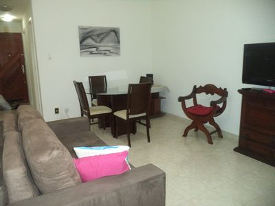 Photo for Cozy apartment, easy access, in the heart of Copacabana