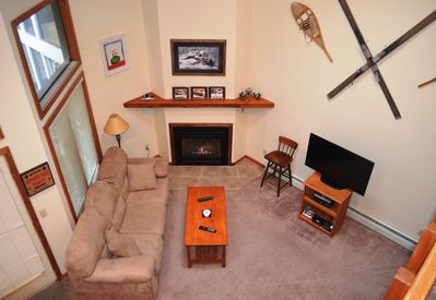 Main Family Room on 1st floor.  Connected to Dinning Room