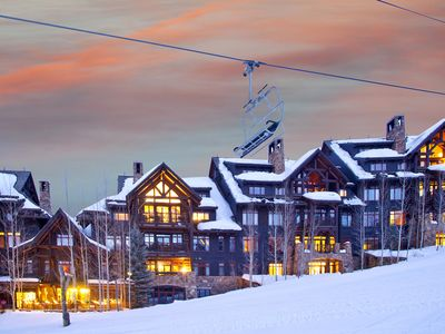 Amazing ski/in/out location for village to village Beaver Creek Resort skiing