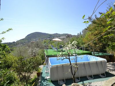 Photo for One bedroom Villa, sleeps 2 with Pool, FREE WiFi and Walk to Beach & Shops