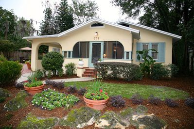 You'll love coming home to this charming 1925 bungalow on a tree lined street.
