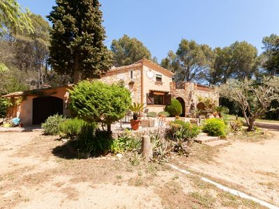 Photo for A house on the Costa Brava with a 5,000 m2 private garden and woods.
