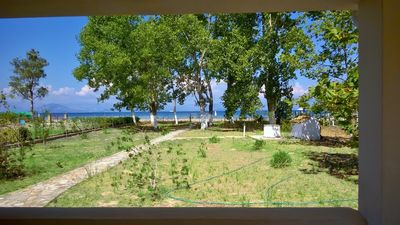 Photo for Amazing 4 Bedroom Sea View Villa On The Sandy Beach In Corfu