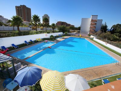 Photo for T2 Vau Mar, Pool, Sea View, Walk to Beach! Beautiful, Modern, Well Equipped