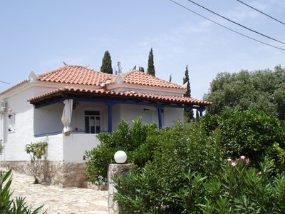Photo for House 2 minutes walk to the sea peroulia