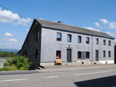 Holiday house in a horse riding school, close to Stavelot and Spa circuit