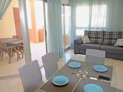 Photo for Spacious 2 bedroom Apartment with Large Terrace in La Cala, Benidorm