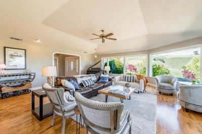 Living Area - Welcome to Paso Robles! This home is professionally managed by TurnKey Vacation Rentals.
