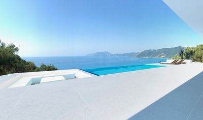 Photo for PRESTIGE VILLAS | Nr Ag GORDIOS | Stunning Sea Views