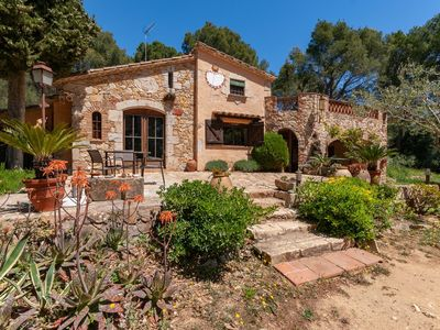 Photo for Countryside Mansion in Palafrugell with Private Garden