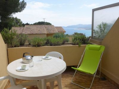 Photo for Apartment in the center of Le Lavandou with Parking, Internet, Terrace (103621)