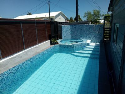 Photo for Large house with secure pool