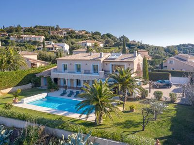 Photo for Spacious and stunning villa located in a peaceful location with a sea view