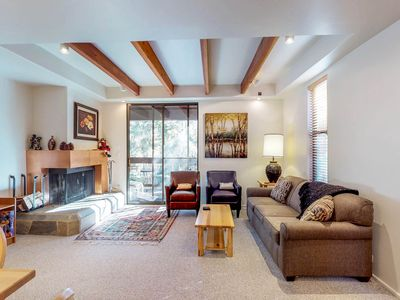 Photo for NEW LISTING! Cozy ski townhome w/ access to shared pool, hot tub, & sauna