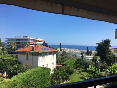 Photo for 2 rooms sea view and pool