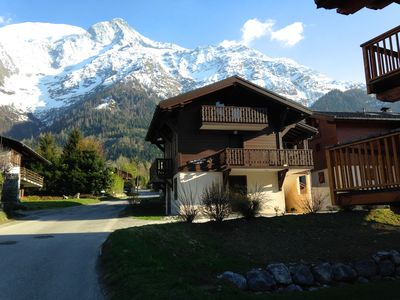 Le Petit Pin. A place to call home at the base of the Mont Blanc