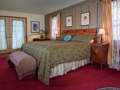 Photo for Benton Suite, Waterfall View, King Bed, Spa Tub for Two, Private Deck, Cable