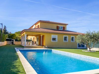 Photo for 4 bedroom Villa, sleeps 8 in Les Platrières with Pool and WiFi
