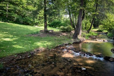 Paint creek and firepit