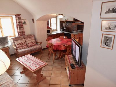 Photo for Especially quiet 3½ room apartment spread over two floors, ca 100 m² big, in an
