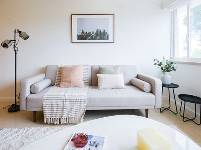 Photo for Beautiful Seaview Apartment - 10 min from the sea!