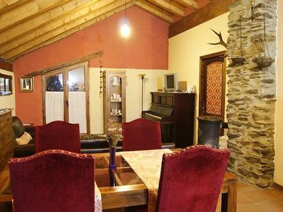 Photo for Casa Fonte Aidi, stay in the Catalan Pyrenees, fishing, hiking, skiing, peace, nature