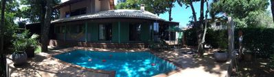 Photo for House with pool and sea view in the city of Beto Carrero (Penha-SC)