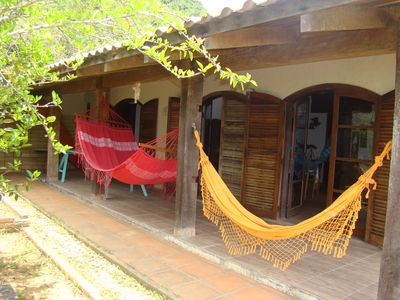 Photo for Ferias is at Casa Marrom in Bombinhas SC