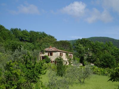 Photo for Dream country cottage with lake views in Umbria near Orvieto