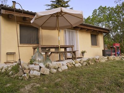 Photo for Penna San Giovanni holiday Casa Vista Top location, 4-5 pers-rest-room!