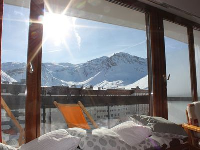 Photo for Appt 6 pers Tignes Lake, WIFI, ski-in, shops, ESF, summer activities