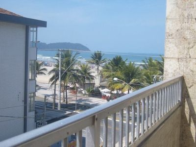Photo for Kitch, well located, with balcony ocean view corner to beach