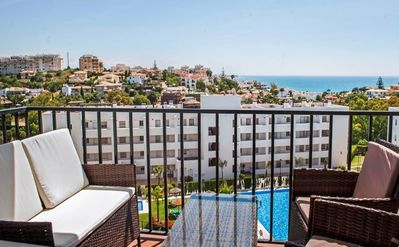 Photo for Apartment - 2 Bedrooms with Pool, WiFi and Sea views - 107262