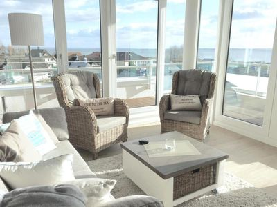 Photo for Penthouse apartment in an exclusive location with sea views for up to 4 people