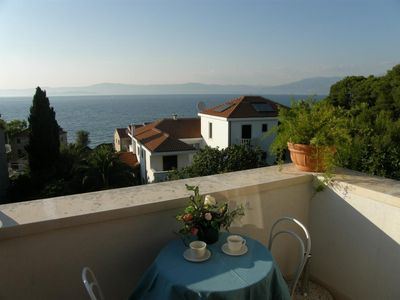 Photo for Studio flat with terrace and sea view Sutivan (Brač)