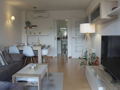 Photo for Fantastic apartment near the beach for 4 people Nordic design