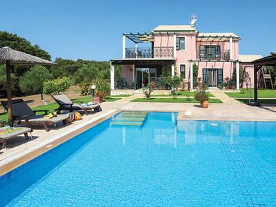 Photo for Peaceful country villa, close to sandy beaches, w/pool + terrace