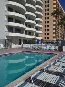 Photo for Upgrated 2 BR/2BA  condo, Direct beach access, Non smoking , Free wifi!