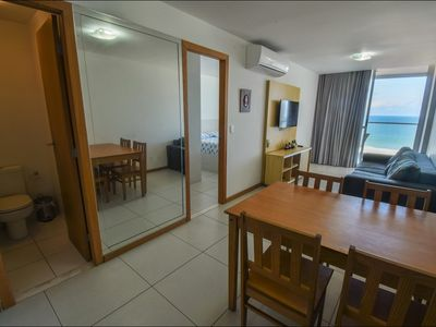 Photo for Air-conditioned apartment with balcony with view and rooftop pool, Express 2222