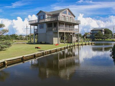 Photo for SOUNDFRONT in Frisco w/Boat dock