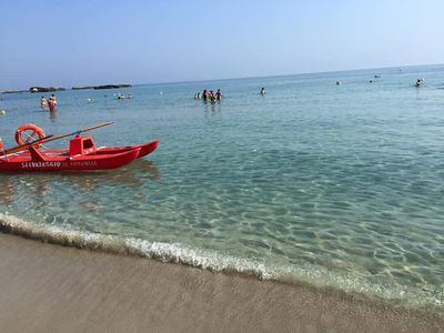 Photo for SALENTO cozy apartment just steps from the sea