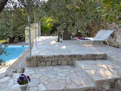 Photo for Quiet holiday home in Ardèche - 8 beds - Swimming pool - Near Aubenas