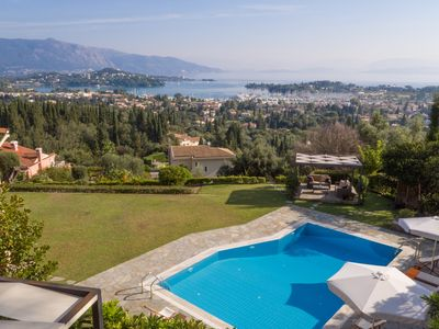 Photo for Family Villa with a private pool and a magnificent view
