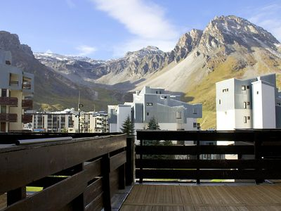 Photo for Apartment 374 m from the center of Tignes with Internet, Lift, Terrace (293495)