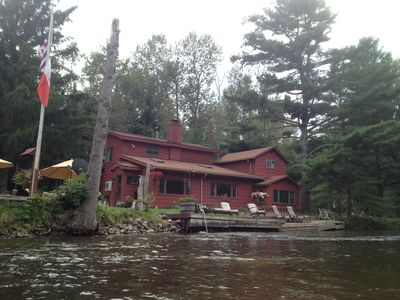 Photo for A spacious, beautiful home on the Boardman River