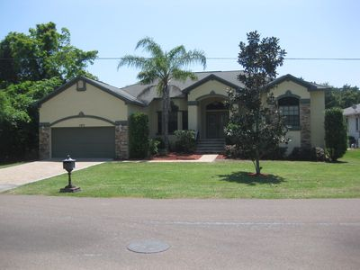 Photo for Waterfront, Solar Heated Pool Home 5 minutes to Homosassa River/Gulf Access!