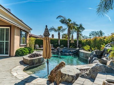 Photo for Desert Oasis in a Lake Community w/mountain views!