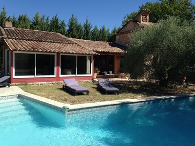 Photo for beautiful house with private pool without neighborhood in Roussillon
