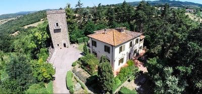 Photo for Torre San Pietro - Beautiful Tuscan Villa and Medieval Tower