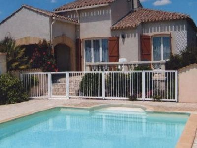 Photo for Rental detached house with pool in Vias for holidays